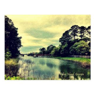 Tybee Island Back Rivers and Creeks Postcard