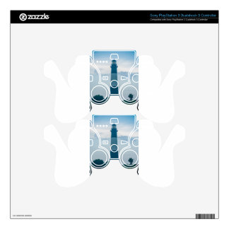 tybee island beach lighthouse north carolina thund PS3 controller skins