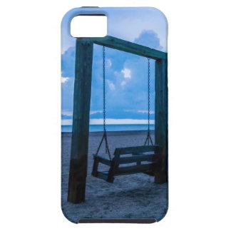tybee island beach ocean front evening iPhone SE/5/5s case