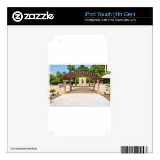 tybee island compass park savannah georgia ocean iPod touch 4G decals