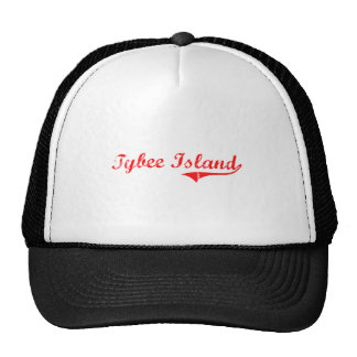 Tybee Island Georgia Classic Design Trucker Hats