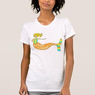 Tybee Island, Georgia Mermaid T-Shirt