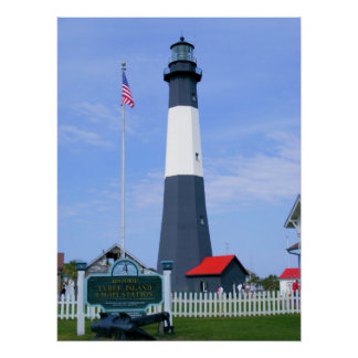 Tybee Island Light Station Poster