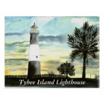 TYBEE Island Lighthouse art collectible gifts, ... Poster