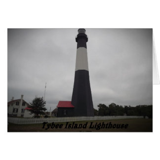 tybee island lighthouse card