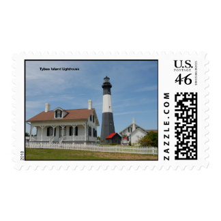 Tybee Island Lighthouse Stamps