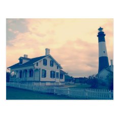 Tybee Island Lighthouse Postcard at Zazzle