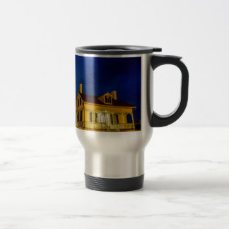 tybee island lighthouse  savannah georgia ocean be travel mug