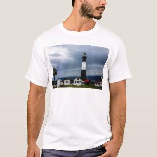 tybee island lighthouse savannah georgia ocean eve T-Shirt