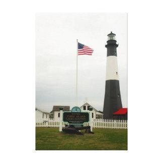 Tybee Island Lighthouse Station Canvas Print