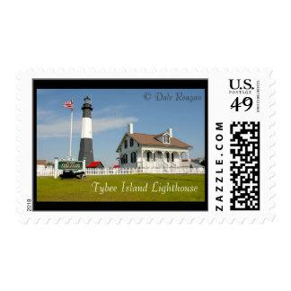 Tybee Island Lighthouse, Tybeee Island, GA, Stamps
