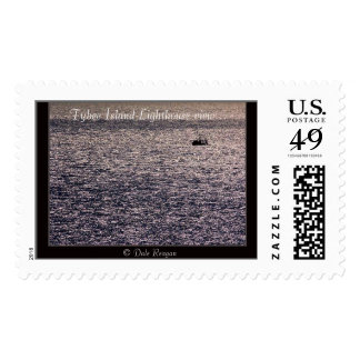 Tybee Island Lighthouse view... Postage