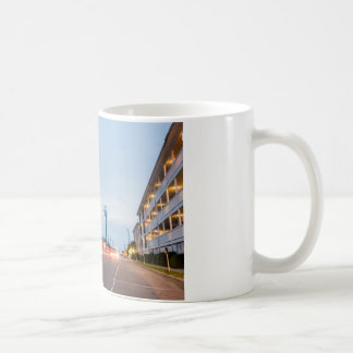 tybee island town savannah georgia ocean evening h coffee mug