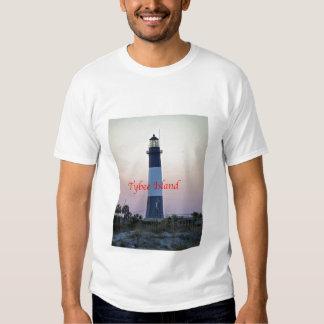 Tybee Light Sunset T Shirt