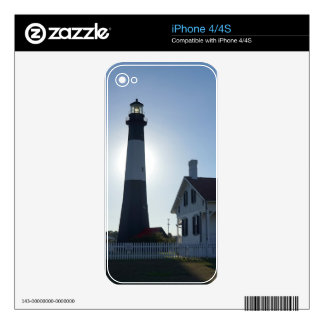 Tybee Lighthouse iPhone 4 Decal