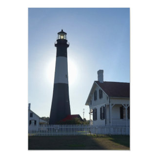 Tybee Lighthouse Magnetic Card