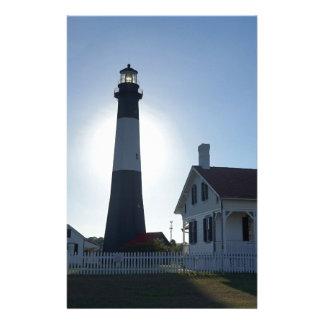 Tybee Lighthouse Stationery