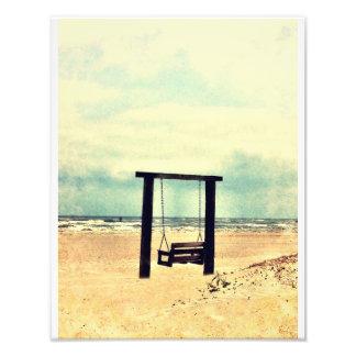 Tybee Swing Photographic Print