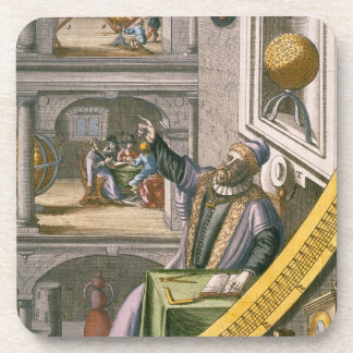 Tycho Brahe (1546-1601) aged 40, amongst his astro Coaster