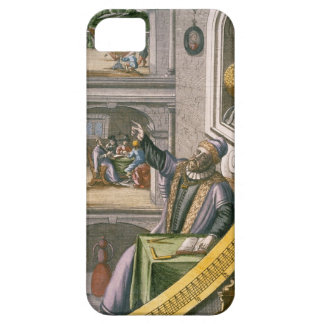 Tycho Brahe (1546-1601) aged 40, amongst his astro iPhone SE/5/5s Case