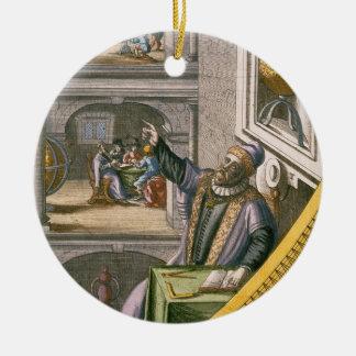 Tycho Brahe (1546-1601) envejeció 40, entre su ast Adornos