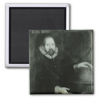 Tycho Brahe 2 Inch Square Magnet