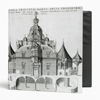 Tycho Brahe's observatory Uraniborg Vinyl Binder