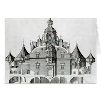 Tycho Brahe's observatory Uraniborg Card