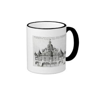 Tycho Brahe's observatory Uraniborg Ringer Coffee Mug