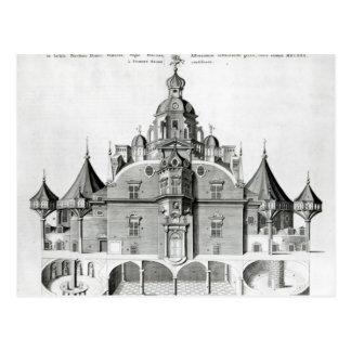 Tycho Brahe's observatory Uraniborg Postcard