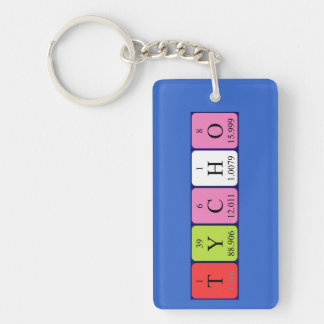Tycho periodic table name keyring keychain
