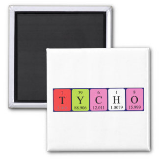 Tycho periodic table name magnet