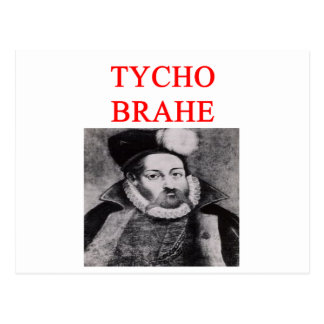 TYCO brahe Postcard