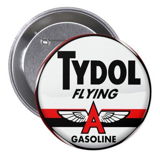 Tydol Flying Gasoline sign Crystal version Pins