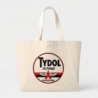 Tydol Flying Gasoline vintage sign Canvas Bags