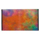 Tye Dye #1h iPad Folio Cover