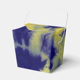 Tye Dye Composition #11 by Michael Moffa Party Favor Boxes