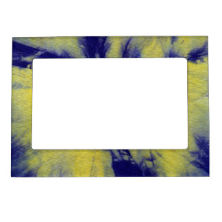 Tye Dye Composition #11 by Michael Moffa Magnetic Picture Frames