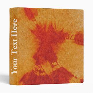 Tye Dye Composition #12 by Michael Moffa 3 Ring Binder