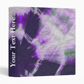 Tye Dye Composition #1 by Michael Moffa 3 Ring Binder