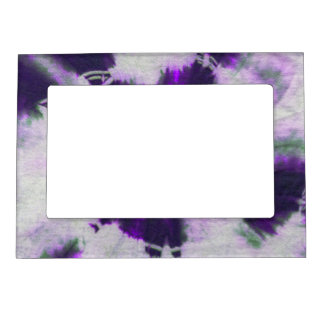 Tye Dye Composition #1 by Michael Moffa Magnetic Picture Frame
