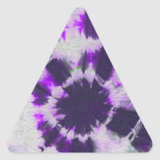 Tye Dye Composition 1 by Michael Moffa Triangle Sticker