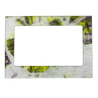 Tye Dye Composition #3 by Michael Moffa Photo Frame Magnet