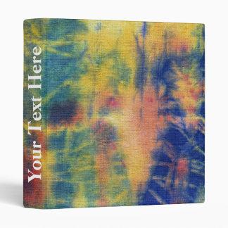 Tye Dye Composition #5 by Michael Moffa Binder