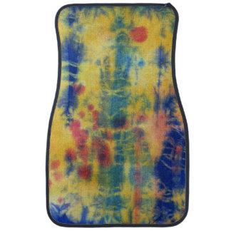 Tye Dye Composition #5 by Michael Moffa Car Mat