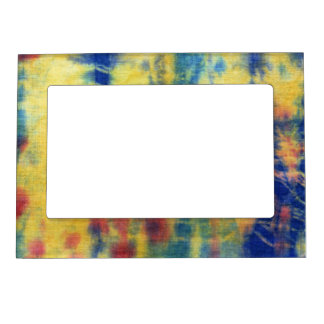 Tye Dye Composition #5 by Michael Moffa Magnetic Picture Frames