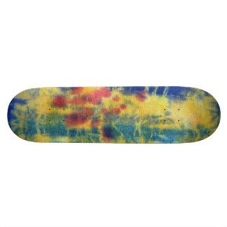 Tye Dye Composition #5 by Michael Moffa Skateboard Deck