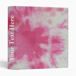 Tye Dye Composition #6 by Michael Moffa 3 Ring Binder