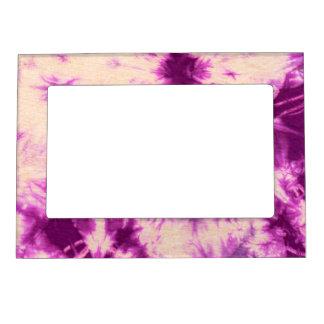 Tye Dye Composition #7 by Michael Moffa Photo Frame Magnets