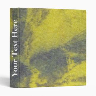 Tye Dye Composition #8 by Michael Moffa 3 Ring Binder